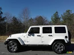 jeep rubicon white interior 2017 bright white jeep wrangler unlimited sahara 4x4 117412017