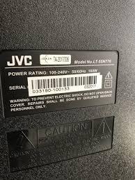 tv l reset how do i fix my jvc tv when i hit the power button diy forums