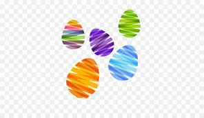 pastel easter eggs easter egg pastel color ribbon eggs png 501 501