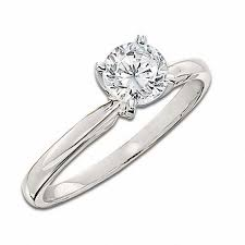 zales engagement rings 1 1 2 ct certified solitaire engagement ring in 14k white
