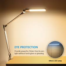byb e430 metal architect swing arm desk lamp dimmable led task