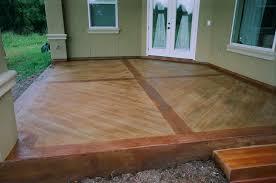 Laminate Flooring Looks Like Hardwood Concrete That Looks Like Wood
