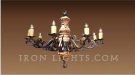 Wrought Iron Chandeliers Mexican Wrought Iron Chandeliers Wrought Iron Chandelier Iron Gallery Llc