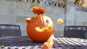 how to make an exploding pumpkin face aka blast o u0027 lantern for