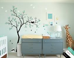 Wall Decals For Nursery Vinyl Wall Decal Rabbit Wall Sticker Tree Wall Decals Nursery