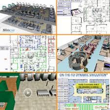 Lab Floor Plan Lab Simulation For Floor Plan And Layout Design Modeling Lab