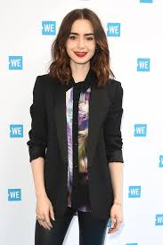 lily collins at we day cocktail party in los angeles 04 26 2017