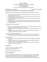 Sample Resume India Credit Manager Resume India Eliolera Com
