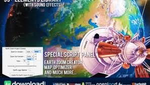 earth zoom pro videohive project free download free after