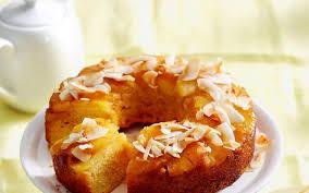 pineapple coconut upside down cake recipe food to love
