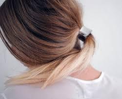 hair cuff sleek ponytail with metallic hair cuff hair accessories