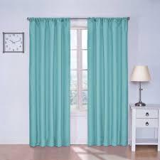 curtain energy efficient blackout curtains walmart com turquoise