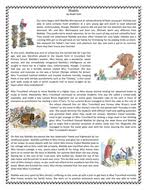 matilda by roald dahl reading comprehension text story by