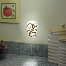 ge led night light ge led round décor night light auto on off white jasco