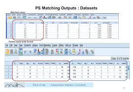 tutorial xlstat propensity score matching spss tutorial download
