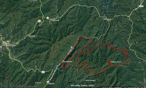 information and maps of five wildfires in and