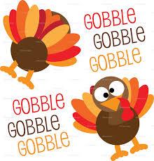gobble gobble gobble turkey thanksgiving giftwrap khaus