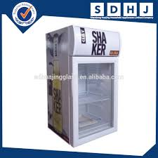mini bar fridge glass door display mini freezer bar small fridge hotel small freezer 80l