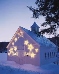 thanksgiving point barn outdoor lighting stars martha stewart