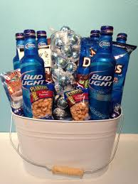 Halloween Gift Baskets For Adults by Bucket O U0027 Bud Gift Basket Send Liquor Craft Ideas Pinterest