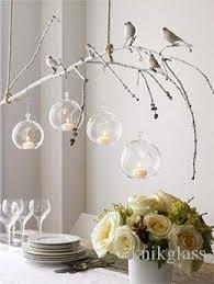 air plant succulent terrarium indoor garden decor glass ball