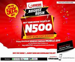 download the genesis cinema mobile app u0026 start buying your movie