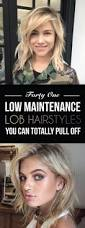 41 low maintenance lob hairstyles you can totally pull off