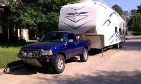 towing with ford ranger pulling fifth wheel with the ranger the ranger