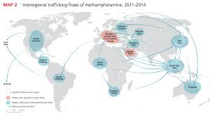 Map Of The Middle East And Asia by Maps Of Global Drug Cocaine Heroin Use Business Insider
