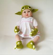 star wars halloween costumes for babies yoda infant baby crochet pattern pdf yoda gloves baby booties