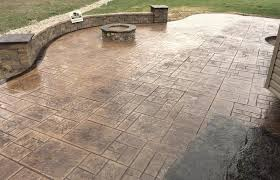 Stamped Concrete Backyard Ideas Walkers Concrete Llc Stamped Concrete Patio Stamped Concrete Or