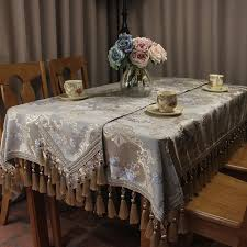 wedding table covers classic vintage wedding table cloth luxury jacquard handmade