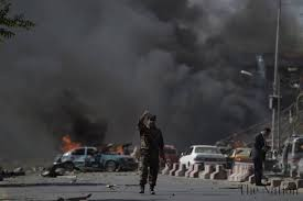 Car Interior Smoke Bomb Least 35 Killed 42 Injured In Kabul Car Bomb Attack
