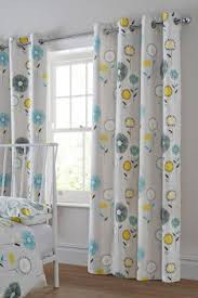 Retro Floral Curtains Buy Retro Floral Grey Eyelet Curtains Today At Next New
