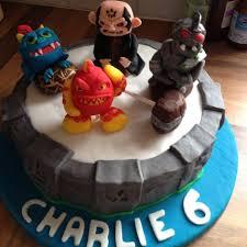 anniething for food skylanders giants birthday cake