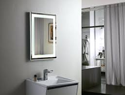backlit bathroom vanity mirror backlit bathroom vanity mirrors chuckscorner