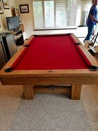 cheap 7 foot pool tables pottery barn pool table rustic natural 7ft