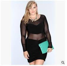 new 2016 plus size club dresses women bodycon night club wear