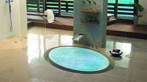 Small Bathroom Designs With Shower Stall Small Bathroom Design With Ultra Modern Tub And Glass Shower Stall