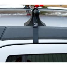 Ford Escape Kayak Rack - universal strap on roof rack crossbars by apex rcb 3745 u