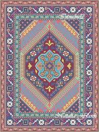Area Rug Patterns Dollhouse Miniature Area Rug Needlepoint Pattern In 1 12th Scale