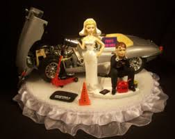 got the key funny wedding cake topper w black and red 1970