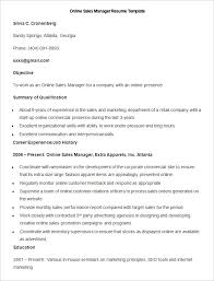 Commercial Manager Resume Sales Resume Template U2013 41 Free Samples Examples Format