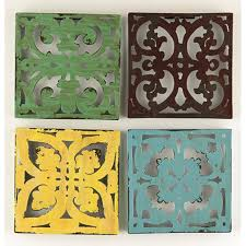Garden Wall Plaque by This Stylish Metal Wall Art Looks Equally Elegant Hung In The Home