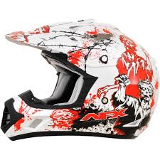 ebay motocross helmets afx fx 17 zombie mens mx atv dirt bike off road motocross helmets
