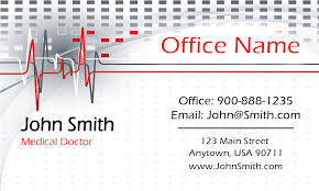 doctor business card design 301341