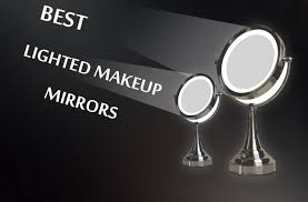Vanity Makeup Mirrors Best Lighted Makeup Mirrors For 2017 Reviews And Guide