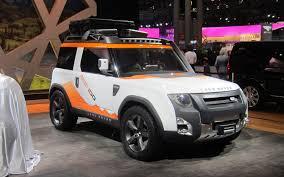 land rover defender 2018 report new land rover defender targets toyota hilux dc100
