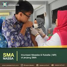 bureau d 馗hange imunisasi measles rubella mr sma nassa of nassa
