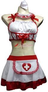 lady women white nurse costume halloween fashion